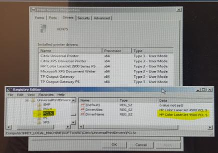 Wyse ThinOS Fails to Auto Create Printer when using Citrix Universal