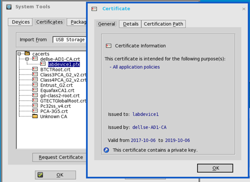 Dell Wyse ThinOS – SCEP and NDES Certificate Configuration