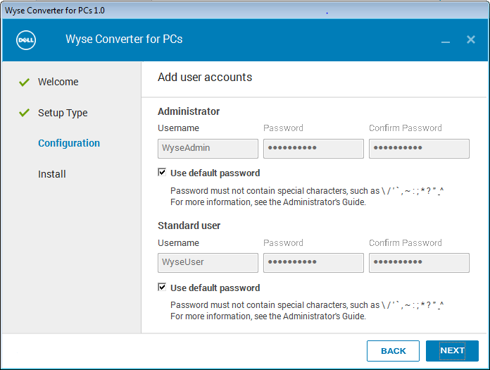 Wyse Converter for PCs Installation Steps | VDI Toolbox